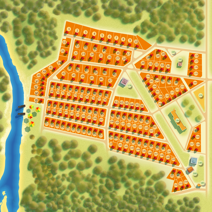 Коттеджный поселок Рузская